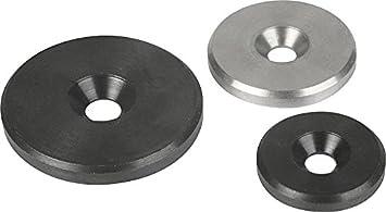 Arandelas planas en acero inoxidable Ø 40mm x 3mm ...
