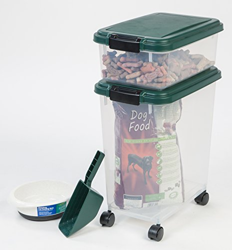 Iris 3 piece airtight pet food container combo new for 3 pieces cuisine