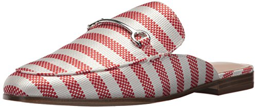 Nine West Women's Walkos Fabric Mule Red-off White Fabric 8UczNHgVs