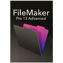 Filemaker Pro 13 Advanced - Software de base de datos (1 usuario(s), 1024 MB, Intel Pentium 4 / AMD Athlon 64, 2048 MB, ENG)