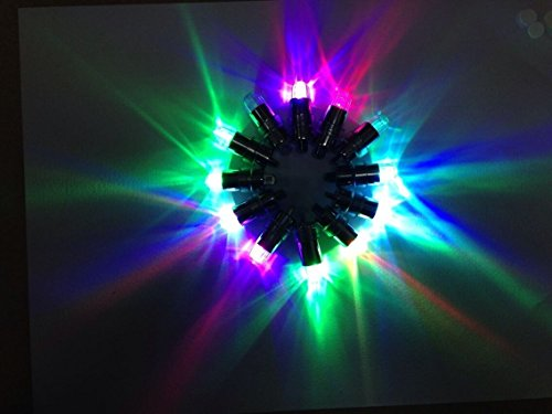 HOSL 60 Pack Multicolor LED Submersible Waterproof Mini Blinking Lights For Paper Lantern Balloon Floral Wedding Halloween Christmas Party Decoration Centerpieces - фото 8