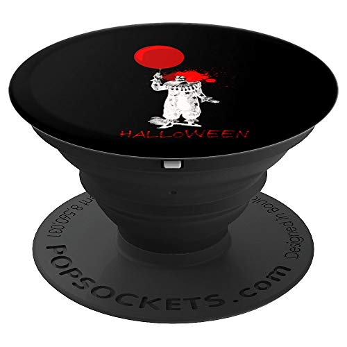 Horror X-Ray Clown Halloween Grip October 31 Holiday Gift - PopSockets Grip and Stand for Phones and -