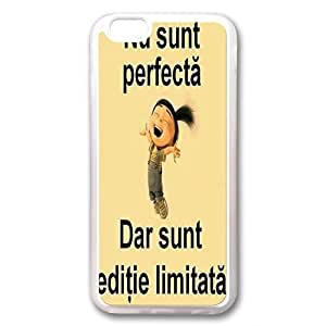 I'm Not Perfect But I'm Limited Edition - Phone Transparent Case Back Cover (iPhone 6 (5.5 inches) Rubber) by runtopwell