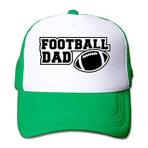 ZOZGETU Football DAD Sign Big Foam Mesh Hat Mesh Back Adjustable Cap Baseball Cap ()