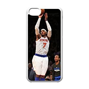 Custom High Quality WUCHAOGUI Phone case Carmelo anthony - New York Nicks Protective Case For Iphone 5c - Case-10