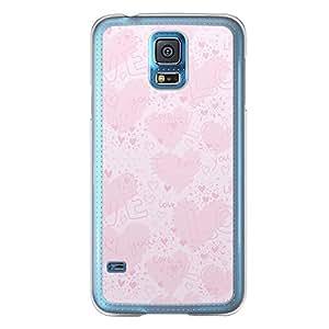 Loud Universe Samsung Galaxy S5 Love Valentine Printing Files A Valentine 161 Printed Transparent Edge Case - Pink