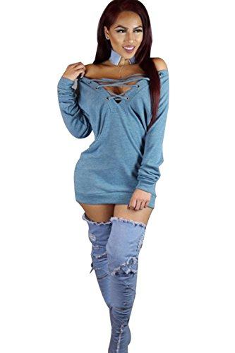 Elegante Halter hueco de las mujeres Bodycon Mini vestido de Cóctel