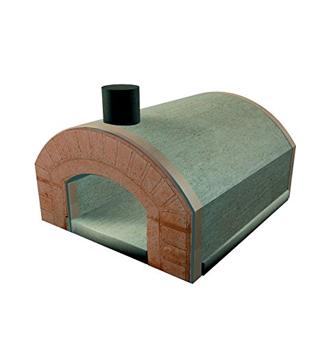 Horno de leña refractario familiar prefabricado Capri, para ...