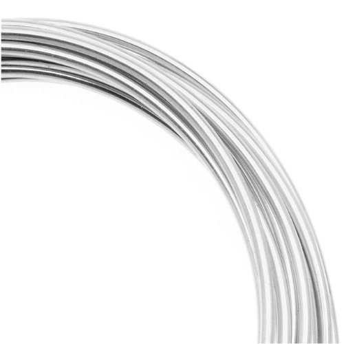 Artistic Wire 16-Gauge,Tarnish-Resistant Silver, 10-Feet