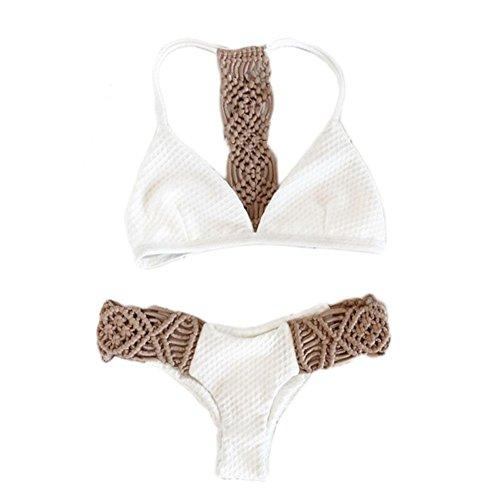 Khaki Bikini Set in Australia - 7