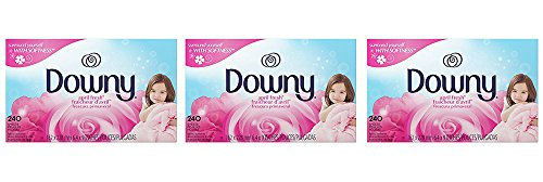 Downy April Fresh qQUHVb Fabric Softener Dryer sheets, 240 Count (3 Pack) by Vowny