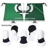 Green Lan-tern Comfort Mask & Shield Face Mask