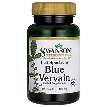 Swanson Full Spectrum Blue Vervain 400 Milligrams 60 Capsules