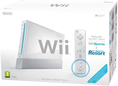 Consola Plus Pack Sport Resort, Blanca: Amazon.es: Videojuegos