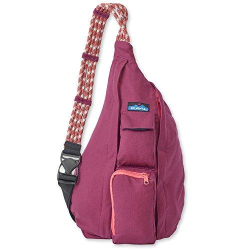 Hook Rope Spring (KAVU Women's Rope Bag Backpack, Ruby, One Size)