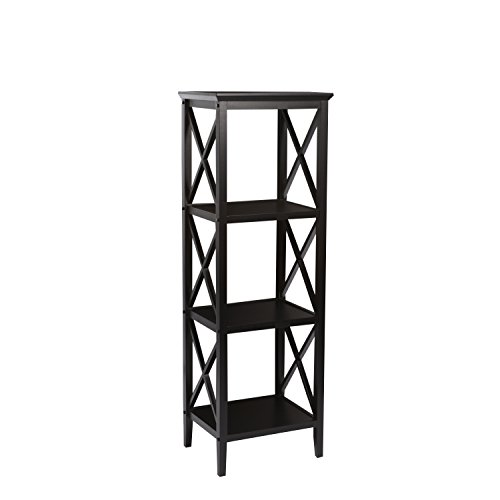 RiverRidge Home X-Frame Bathroom Towel Tower - Espresso by RiverRidge Home Products