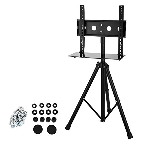 Mophorn Tripod TV Stand 360 Degree Swivel Portable LCD Stand 37