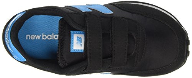 New Balance Unisex Kids KE410BTY M Hook and Loop Low-Top Sneakers, Multicolor (Black/Blue), 1 UK 33 EU
