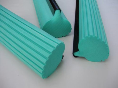 (Super Absorbent PVA Roller Sponge Mop Head Refill - Set of 3)
