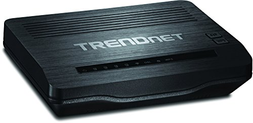 Trendnet N300 Wireless ADSL 2+ Modem Router, Compatible w...