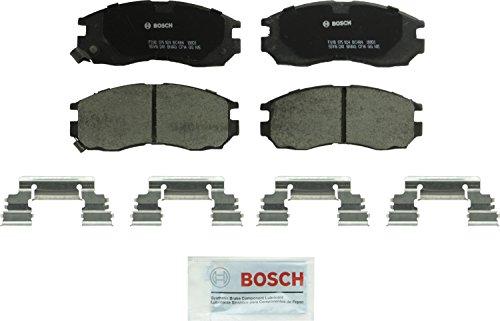 Bosch BC484 QuietCast Premium Ceramic Disc Brake Pad Set For Select Chrysler Sebring; Dodge Avenger, Stratus; Eagle Summit, Talon; Mitsubishi Eclipse, Expo, LRV, Galant, Mirage; Plymouth Laser; -