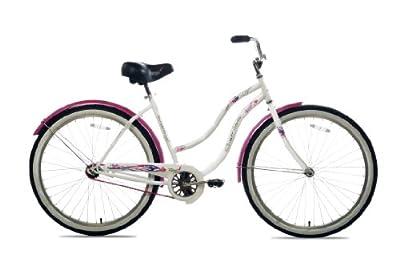 Susan G Komen Single Speed Beach Cruiser Bike, 26-Inch
