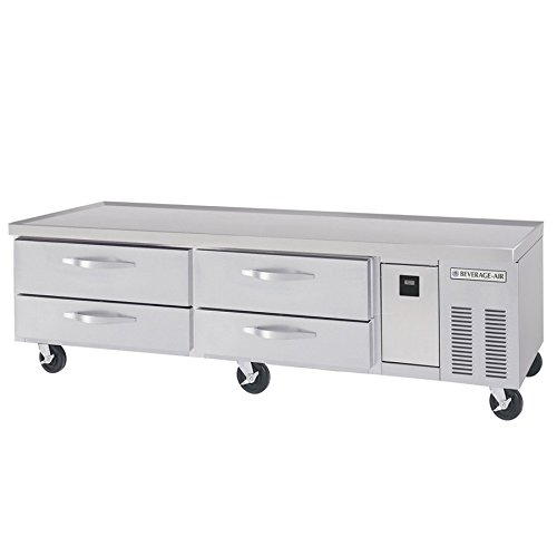 (72in Four Drawer Refrigerated Chef Base Equipment Stand)