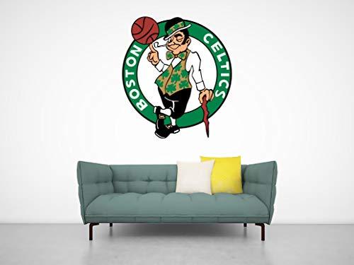 Ottosdecal Basketball Team - Wall Decal Vinyl Sticker for Home Interior Decoration Doors Laptop, Window, Mirror, Car (20
