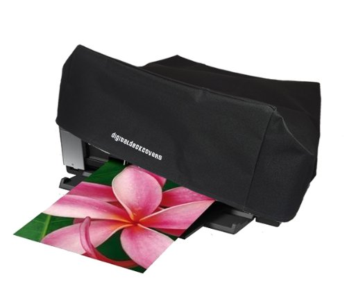 Printer Dust Cover for Epson Stylus Photo R2880 / R2400 / R2000 / 2200 / 1400; Epson Artisan 1430; Epson Workforce 1100; Surecolor P400 [Antistatic, Water Resistant, Black] by ()