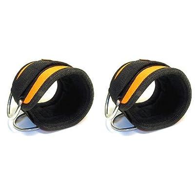 Cheville Bracelet néoprène/nylon 4inch VENDU EN PAIRES POUR CÂBLE Machine Attachement