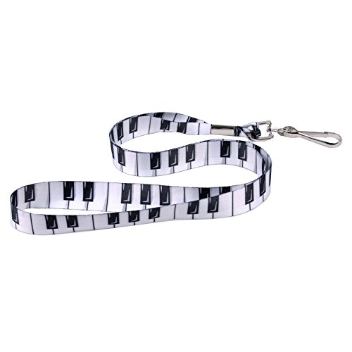 Piano Keys - Soft Printed ID Neck Lanyard - Music ()