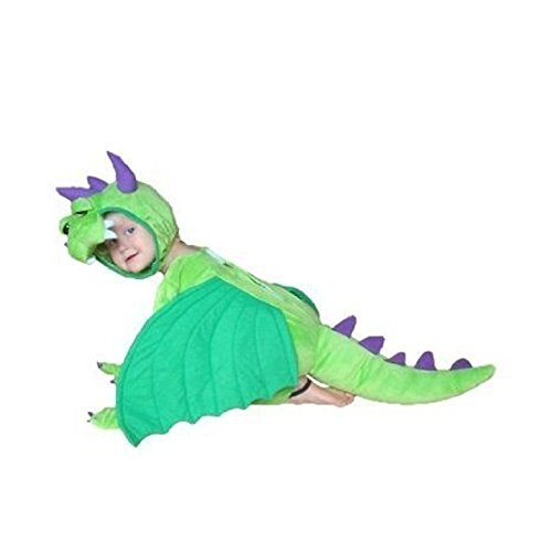 Fantasy World Dragon Halloween Costume f. Toddlers/Boys/Girls, Size: 3t, (7 Last Minute Halloween Costumes)