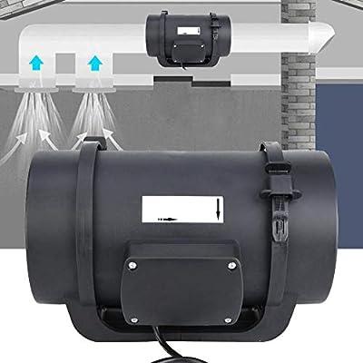 Ventilador de ventilación de conductos, sistema de circulación de ...