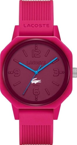 Lacoste 80th Anniversary Pink Dial Pink Silicone Unisex Watch 2010693