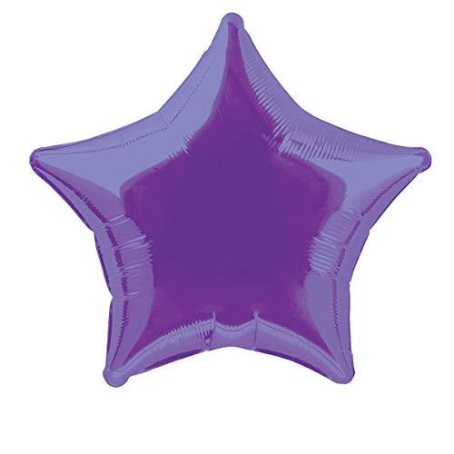 20'' Foil Dark Purple Star Balloon