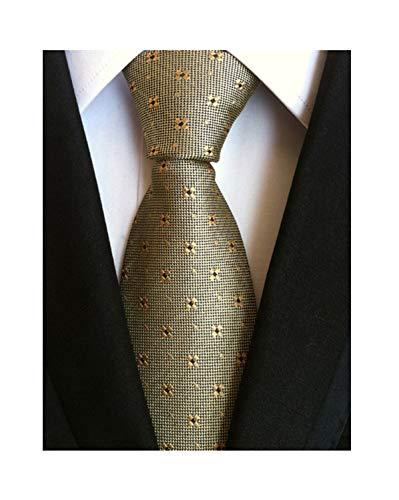 Men's Black Navy Blue Patterned Silk Ties Classic Ribbed Designer Luxury Necktie