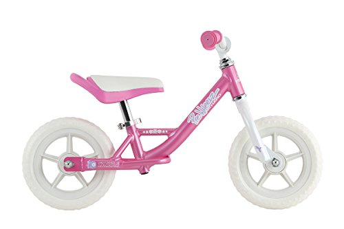 Haro Bikes Prewheelz 10 Balance Bike, Pearl Pink - Haro Seats