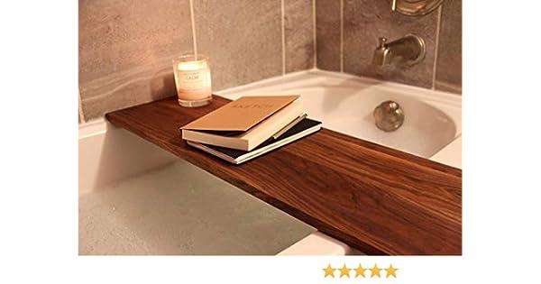 Adjustable Bath Shelf Fits All Standard Size Tubs Wooden Bath Caddy Bath Caddy Tray Luxury Bath Tub Shelf Gift For Her