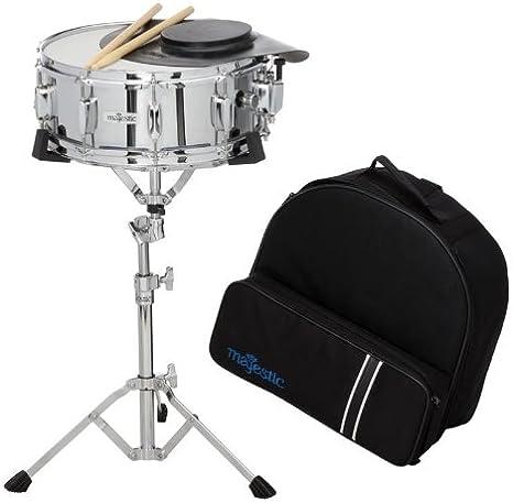 Majestic Backpack Snare Drum Set – Incluye Funda, trípode + Sticks: Amazon.es: Instrumentos musicales