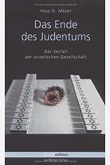 Das Ende des Judentums Paperback