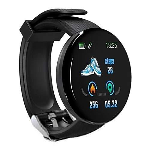 Zimrio Unisexe Casual Bracelet Multifonctionnel Bluetooth Forme Ronde Bluetooth Montres connectées