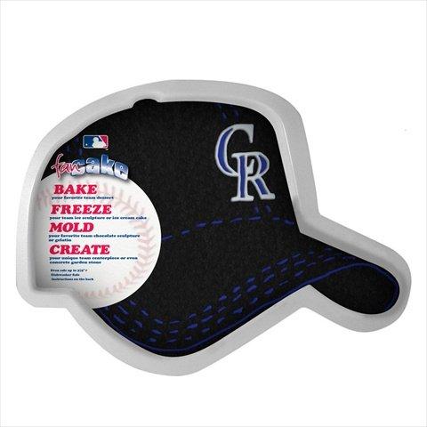 MLB Colorado Rockies Fan Cakes Heat Resistant CPET Plastic Cake -