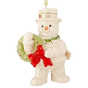 Lenox Happy Holly Days Snowman Salt & Pepper Shaker Set 59