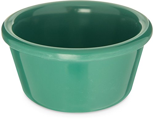 Carlisle S28509 Melamine Smooth Ramekin, 4 oz. Capacity, Green (Case of 48) by Carlisle
