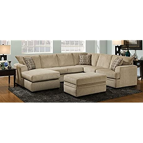 2 Pc Atherton Sectional Sofa 733641