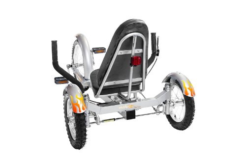 "Mobo Triton (Silver) The Ultimate 3 wheeled Cruiser (16"") �"