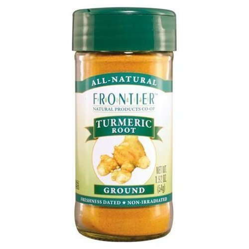 FRONTIER HERB TUMERIC RT GRND ORG, 16 OZ by Frontier