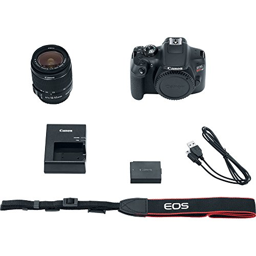 Canon EOS Rebel T6 Digital SLR Camera Kit with EF-S 18-55mm f/3.5-5.6 IS II Lens, Built-in WiFi and NFC - Black (Certified Refurbished) Canon EOS Rebel T6 Digital SLR Camera Kit with EF-S 18-55mm f/3.5-5.6 IS II Lens, Built-in WiFi and NFC – Black (Certified Refurbished) 41EgTPJFmdL