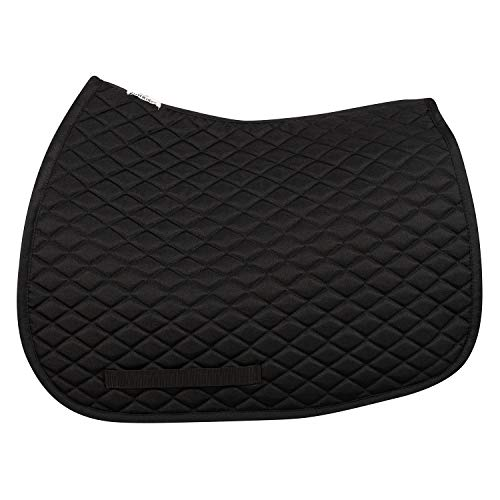 TuffRider Basic All Purpose Saddle Pad Black