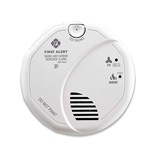 (First Alert Hardwired Talking Photoelectric Smoke and Carbon Monoxide Detector, BRK SC7010BV )